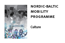 Nordic-Baltic mobility programme